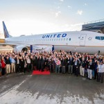 United Salutes Its Military Veteran Employees with Boeing 737 Delivery Flight