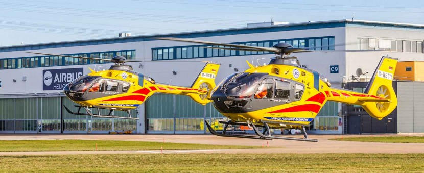 Airbus Helicopters deliver LPR in Poland four additional H135 helicopters
