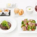 JAL offer Business Class Meal Order Service online