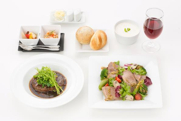 Order your Business Class meal online with Japan Airlines