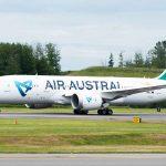 Air Austral First Boeing 787 Dreamliner