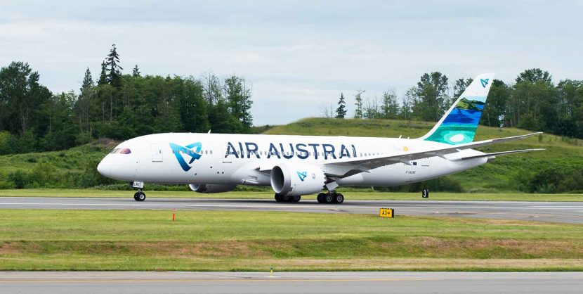 Air Austral takes delivery of its first Boeing 787 Dreamliner