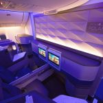 United Airlines B777-300ER Polaris Business Class Seat