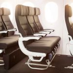 Boeing B787-9 economy seat air new zealand japan tokyo Haneda flights