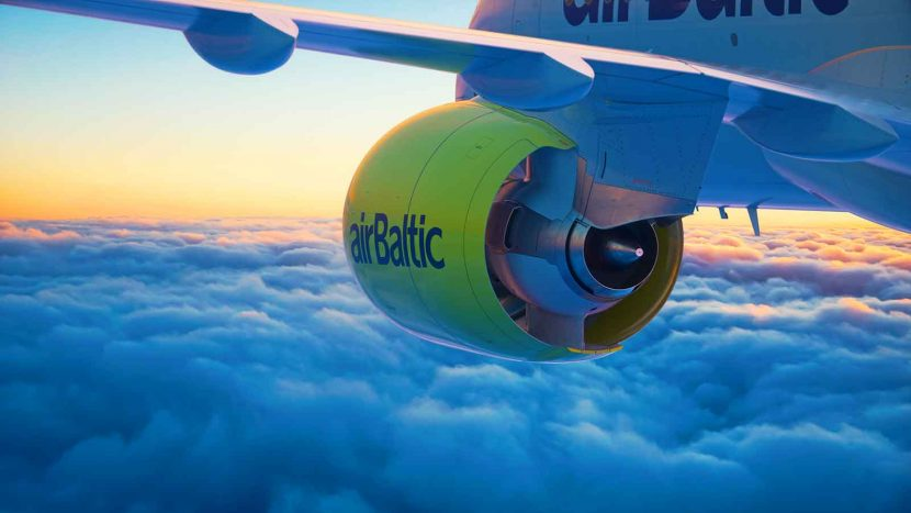airBaltic receives their second CS300 aircraft only 18 more to go!