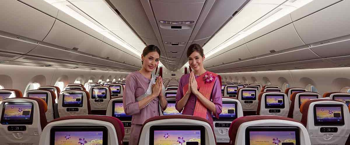 Thai Airways Flight Update