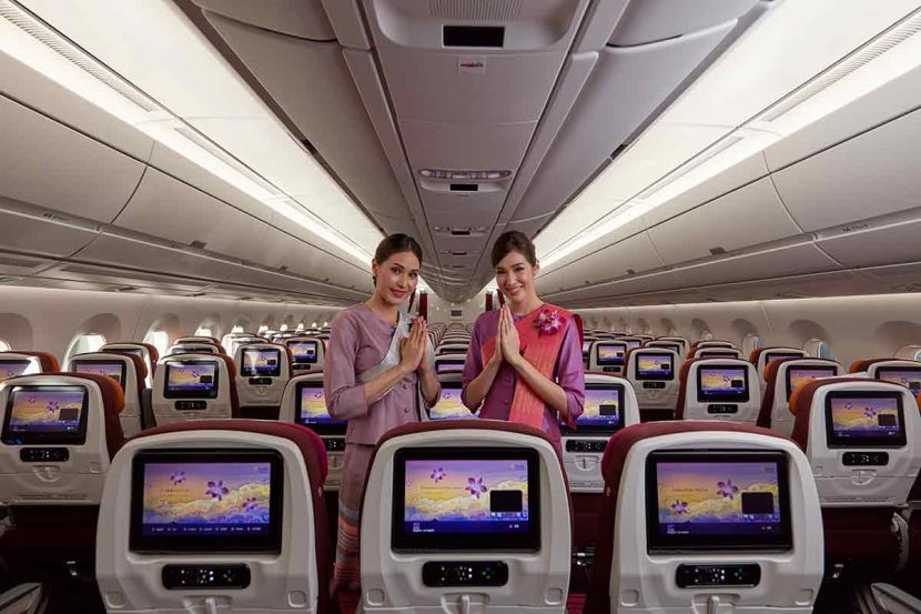 Thai Airways A350 starts flights between London and Bangkok