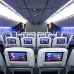 New British Airways World Traveller Plus cabin Boeing 777