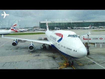 British Airways (New Economy) B747-400 Trip Report & Cabin Review – London to New York