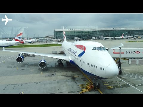 British Airways (New Economy) B747-400 Trip Report & Cabin Review – London to New York