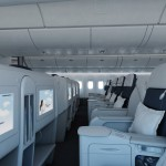 Air France Business Class cabin