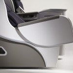 Air France Business Class removable armrest