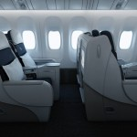 Air France Business Class seating