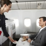 Air France personalised service in Business Class cabin