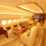 Airbus ACJ319 corporate jet to be exhibited for the first time in Australia - Comlux main cabin