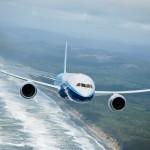 787 during flight tests