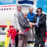 Boeing and Air India celebrate the delivery of the airline's first 787 Dreamliner