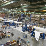 The Boeing 787 factory in Washington
