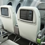 Bombardier CSeries cabin provides larger seating for passengers
