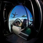 Boeing CRVS Constant Resolution Visual System Military Simulator Interior
