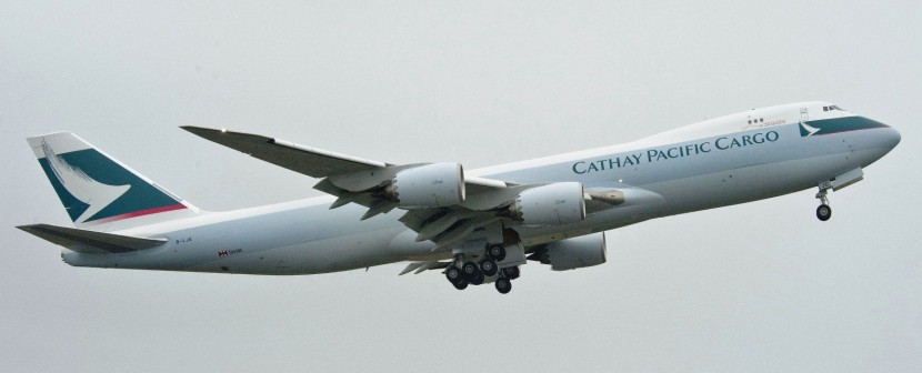 Cathay Pacific order three Boeing 747-8 Freighters