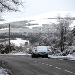 Day 3 Morning snow at Bonar Bridge