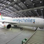Debut of enhanced livery for new Air Seychelles Airbus A330-200 aircraft