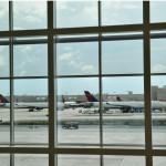Delta aircraft at Atlanta Airport