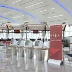 Delta check-in at Concourse F Atlanta Airport