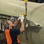 First Citation M2 Business Jet Wing And Fuselage Mating