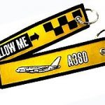 Follow Me A380 Key Ring