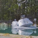 Hydro Impact Basin (HIB) Orion Multi-Purpose Crew Vehicle drop test