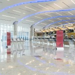 Improved services for passengers of Delta at check-in at Concourse F Atlanta Airport