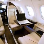 JetSuite Phenom 100 cabin interior