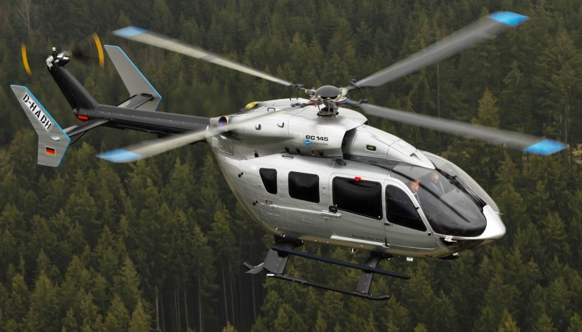 Take a drive in a luxury Mercedes-Benz Style EC145 helicopter