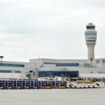 Outside Delta Concourse F Atlanta Airport