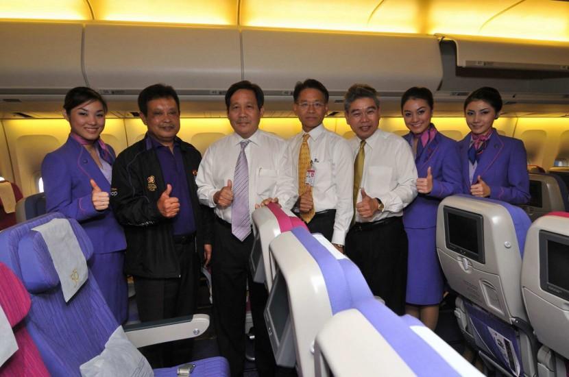 Thai Airways upgrades cabins on Boeing 747-400 aircraft