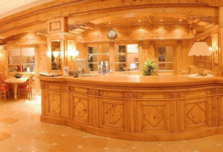 The Plunhof Hotel Reception - South Tyrol