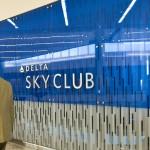 The new Delta Sky Club at Concourse F terminal at Atlanta Airport