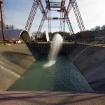 The new Hydro Impact Basin is 115 long, 90 feet wide and 20 feet deep