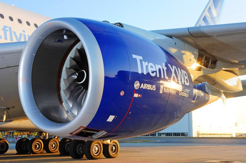Airbus A350 Trent XWB engine achieves EASA type certification