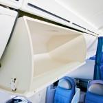 United Boeing 787 Dreamliner Cabin Over Head Locker