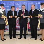 airberlin, Etihad Airways and Abu Dhabi Airport celebrate first landing